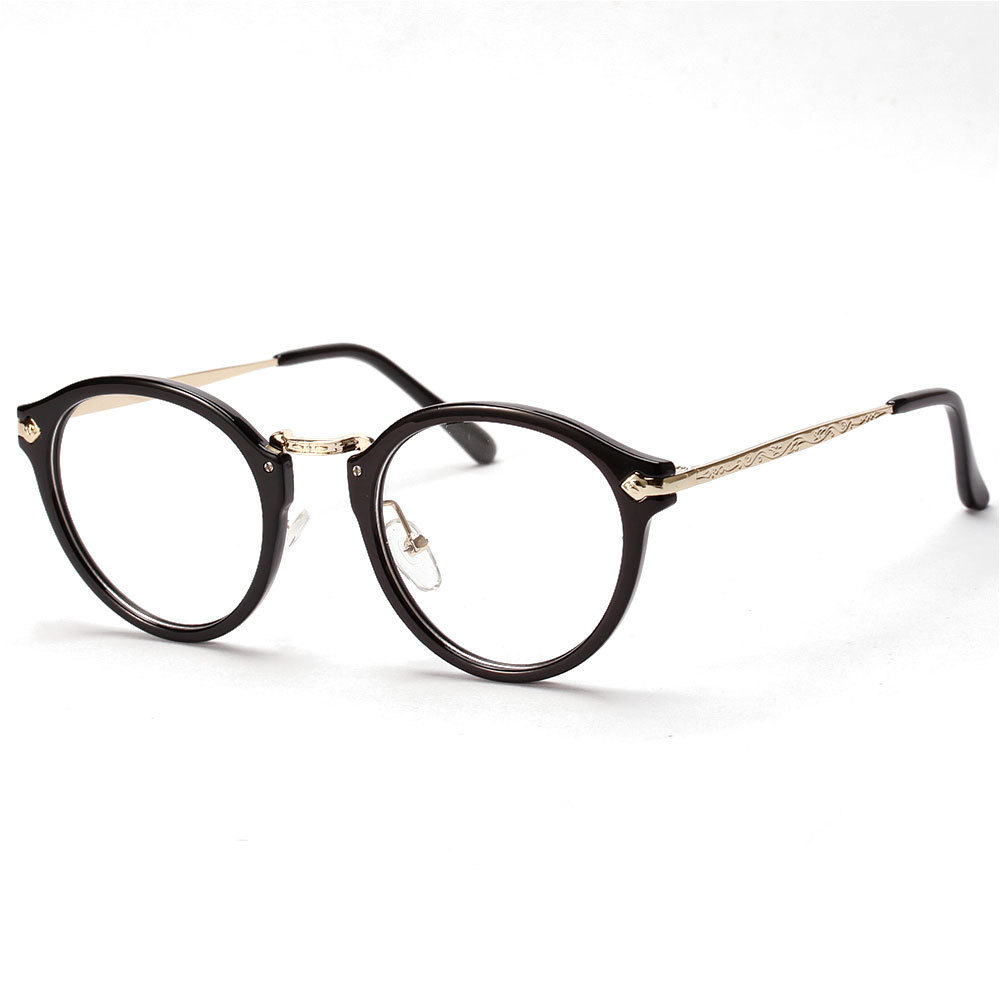 Eyeglass Frame Quiapo : Chashma Korea Star Fashion Eyeglasses Retro Round Glasses ...