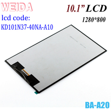 WEIDA  KD101N37-40NA-A10 LCD Display Replacement Parts For Tablet PC LCD  KD101N37-40NA-A10-REVA 10.1
