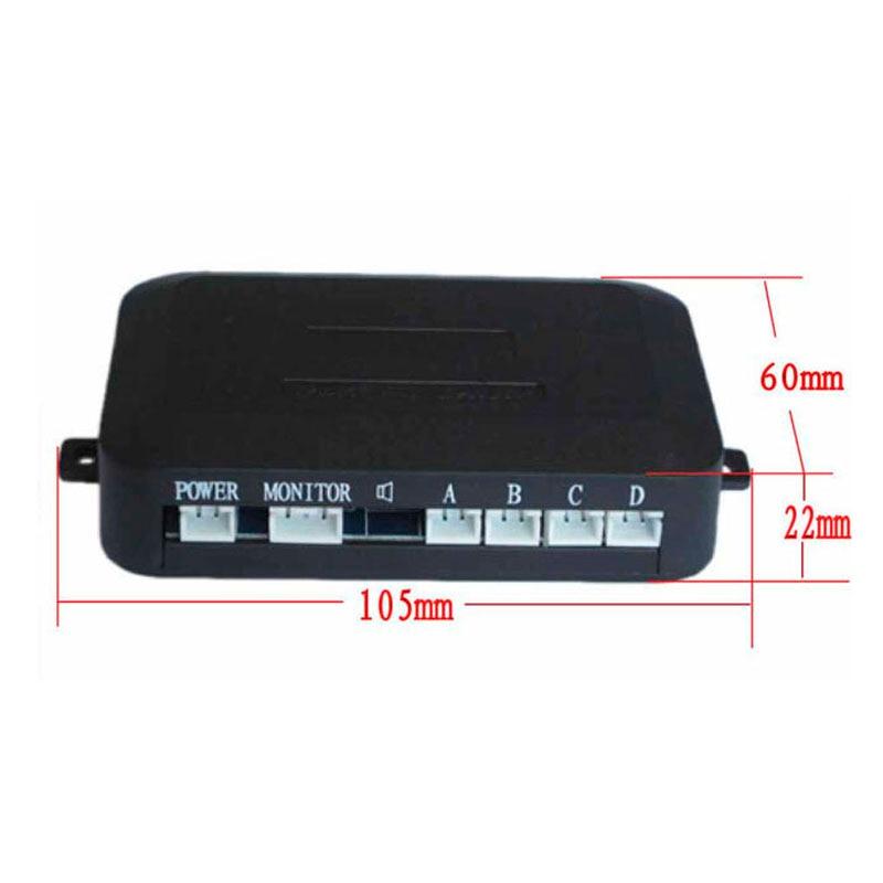 Car Parking Sensor Kit Car Auto LED Display 4 Sensors For All Cars Reverse Assistance Backup Radar Monitor Parking System C003P