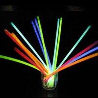 Mới Đến Đêm Đồ Chơi Ánh Sáng 100 Cái/bộ Glow Sticks Bracelet Dây Chuyền Neon Đảng Lights Cao Cấp Ủng Hộ Glowing Đồ Chơi TY