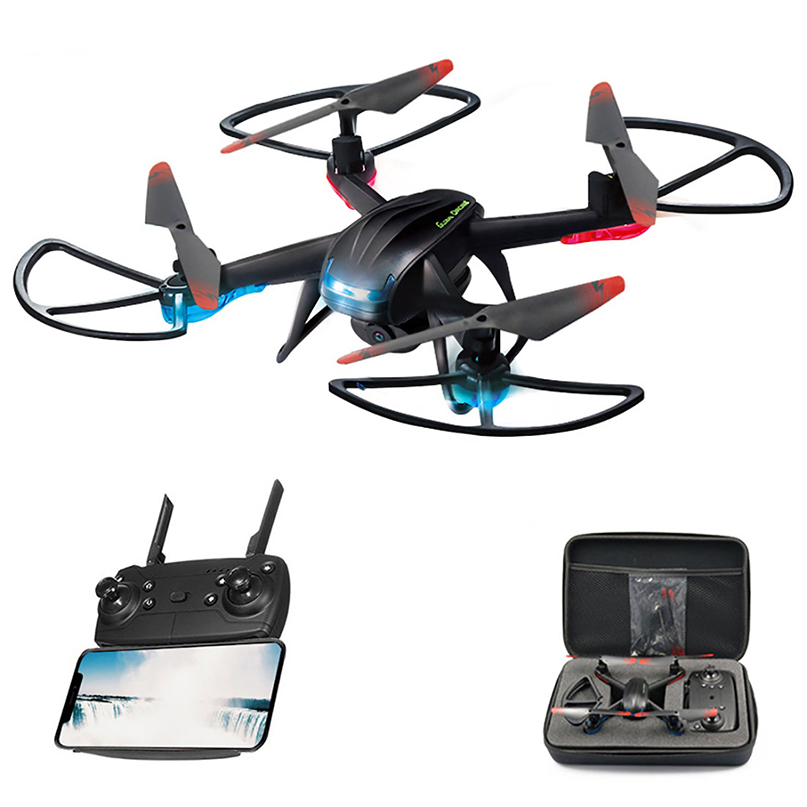 Global Drone GW007-3 Profissional Live Video Drone Altitude Hold <font><b>Dron</b></font> <font><b>FPV</b></font> Quadcopter Toys for Boys RC Drones with HD Camera image