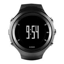 Ezon reloj g3 profesional al aire libre gps bluetooth reloj en marcha con la frecuencia cardiaca, altímetro, barómetro función