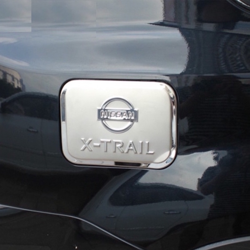 For Nissan X-Trail T31 Oil Gas Tank Cover Decoration Air conditioning outlet Trim X Trail 2008 to 2013 Car-styling Accessories