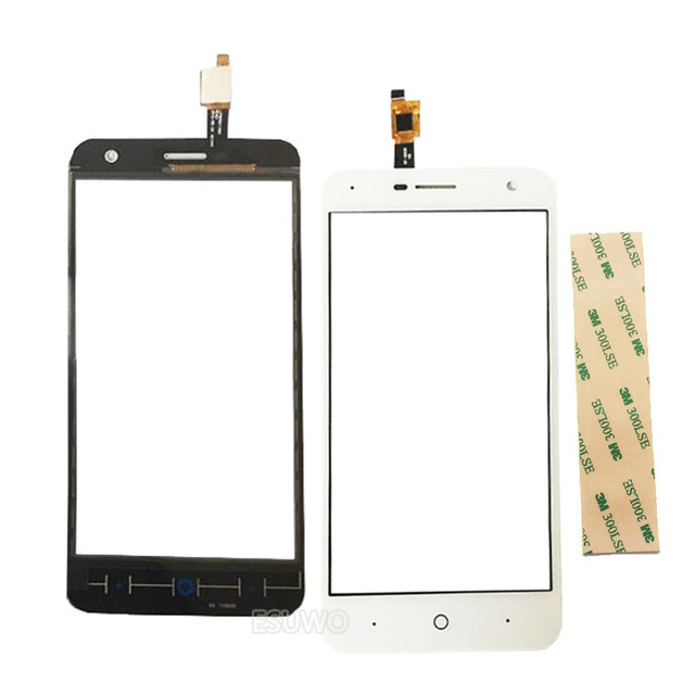 Black White Touch screen For ZTE Blade L4 Pro A465 Touch Screen Digitizer Sensor Front Glass Panel Lens Replacement Part