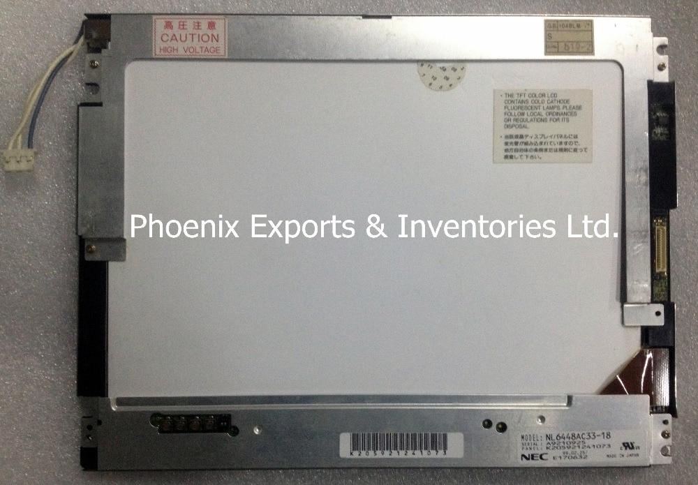 Original NL6448AC33 18 10 4 LCD Display Panel NL6448AC33 18 1208