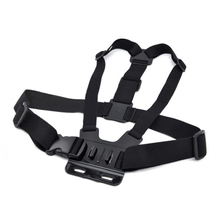 Adjustable Chest Belt Strap Chest Mount Harness for Gopro sj7000 accessories Sport Action Camera Accessories Black