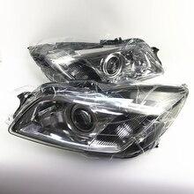 Capqx 2 шт. 10 булавки переднего бампера HID головной светильник для Opel insignia 2008 2009 2010 Ксеноновые Фары головного светильник
