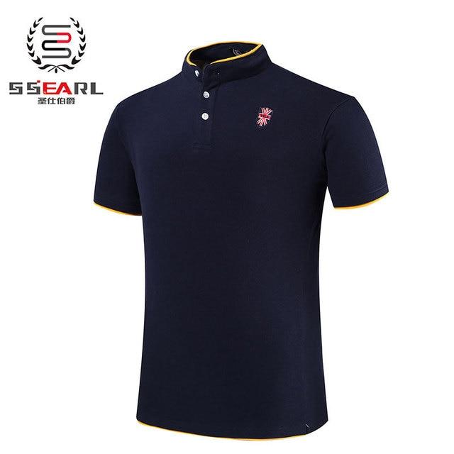 Мужчины рубашка пять цветов хлопка дышащий коротким рукавом рубашки тонкий рубашки свободного покроя бренда дизайн рубашки Camisa поло Masculina размер : M-5XL