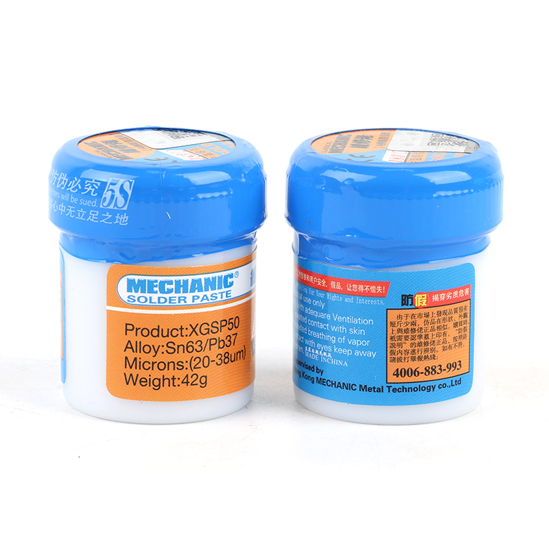 2PCS/Lot XGSP50 XG-50 100% Original HK MECHANIC Solder Flux Paste Soldering Tin Cream Sn63/Pb37