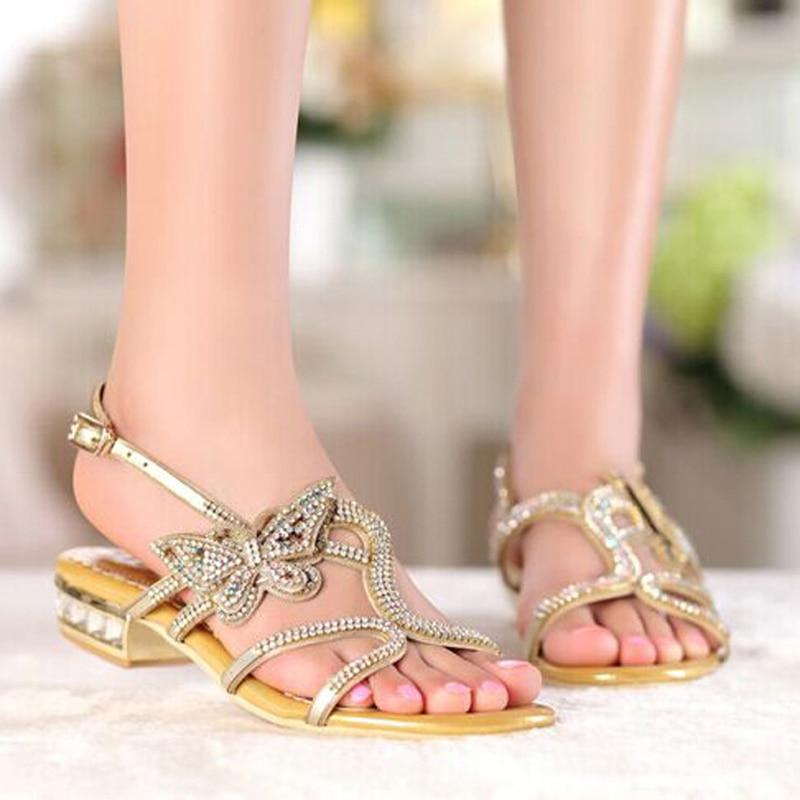 Black Pantoufles Sandales Femmes Confortables Nouvelles Chaussures Color D'été Or Ouvert Bout Color À Couleur Noir gold 4wwBqx7