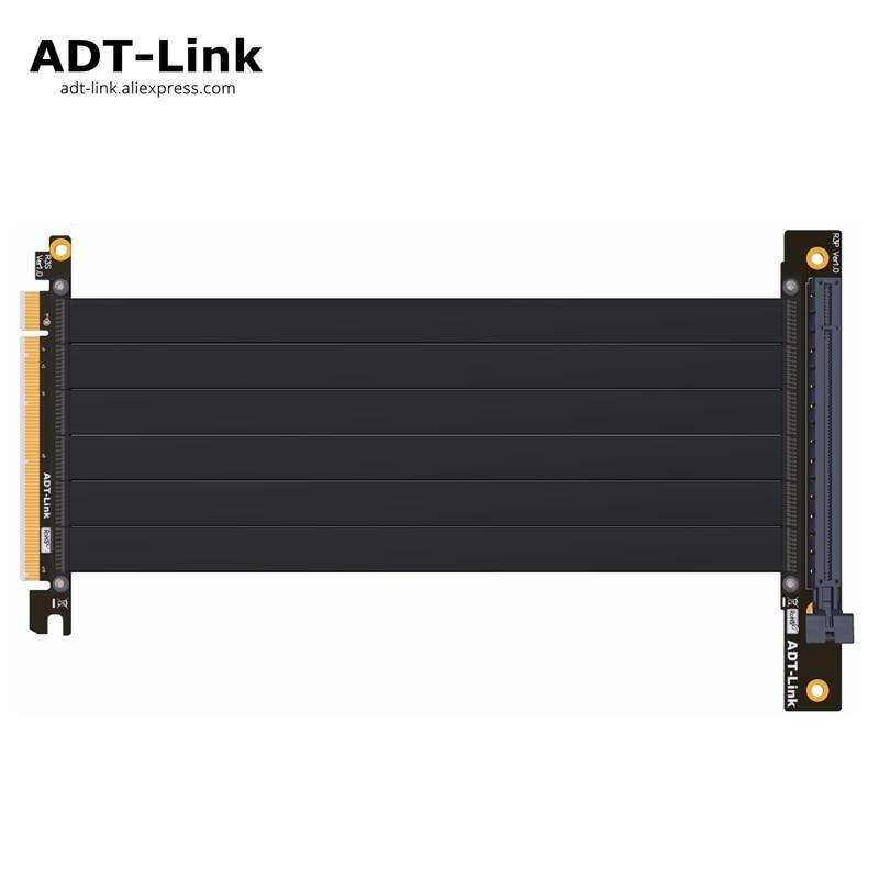 цена Gen3 PCIE x16 To x16 Riser pci e PCI-e 16x flexible Cable For PHANTEK ENTHOO Evolv Shift PH-ES217E/XE PK-217E/XE ITX Motherboard