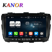 KANOR Octa Core Android 6.0 RAM 2G 32G ROM Para KIA Sorento 2013 Coches Reproductor de DVD GPS de Radio WIFI Bluetooth Mapa USB Audio