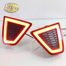 For Honda Jazz 2014 – 2016 2017 SNCN Multi-function LED Rear Bumper Light Rear Fog Lamp Brake Light Turn Signal Light Reflector