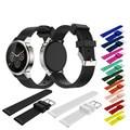 20mm New Luxury Soft Wristband Silicone Bracelet Strap Band For Men's 42mm MOTO 360 2nd Sports Smart Watch Belt Correa Reloj