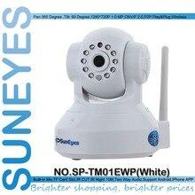 SunEyes SP-TM01EWP 720 P 1.0MP Megapixel HD IP Cámara Inalámbrica Wifi p2p plug and play red cctv cámara con sd micro ranura