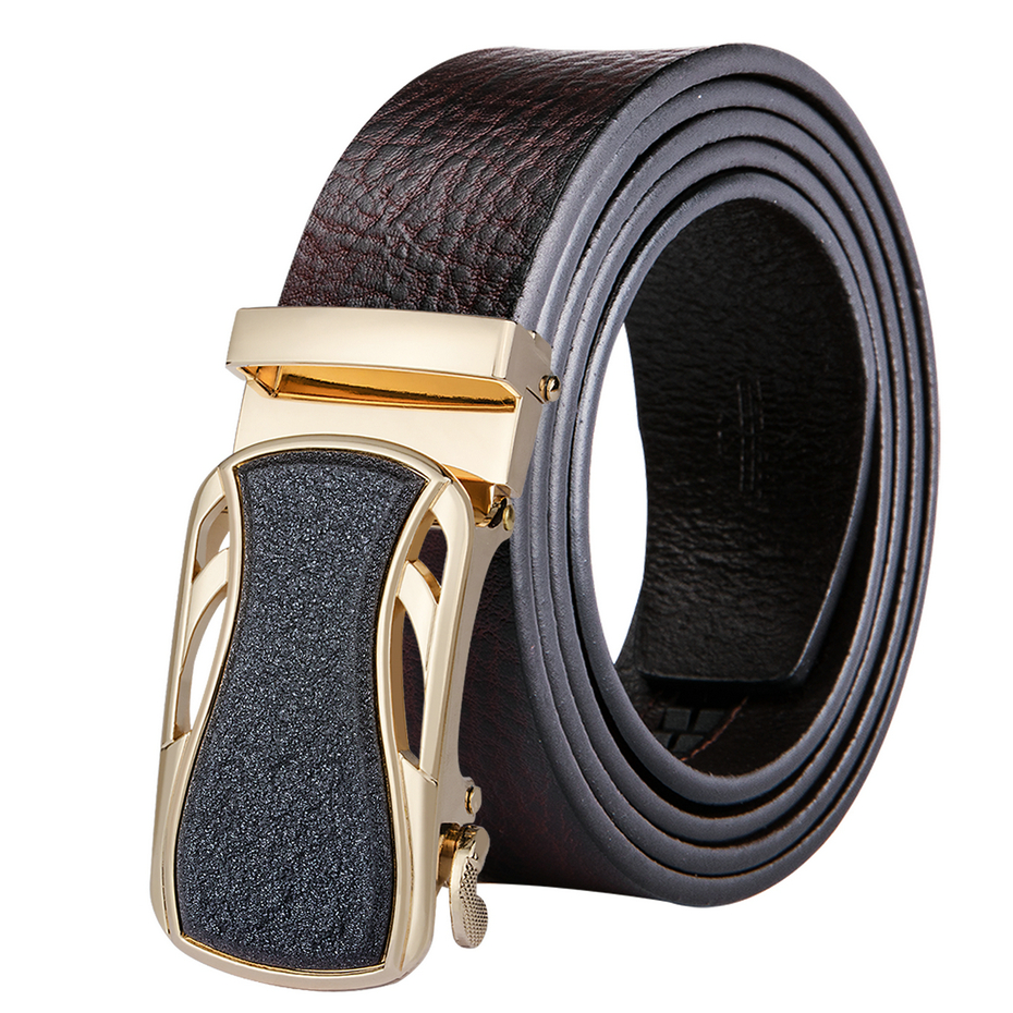 DUBULLE Man Belt Automatic Buckle Cowhide Leather Men Belt Fashion Luxury Belts Men Designer Belts Men New Designer Wholesale