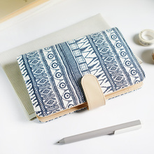 2018 Vintage Dashiki Agenda Ring Binder Organizer Planner Fabric Cover Personal Notebook Jouranl Dairy A5 A6 Matching Filofax