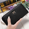 Women Wallets Purses Wallets Female Zipper PU Cute Leather Solid wallet Coin clutch phone bag carteras mujer 2016 Fashion bags