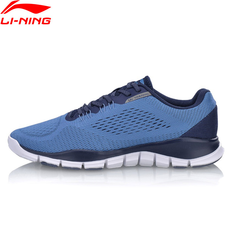Li-Ning Men SUPER TRAINER M Training Shoes Flexible Breathable LiNing Li Ning Light Weight Sport Shoes Sneakers AFHN017 YXX033