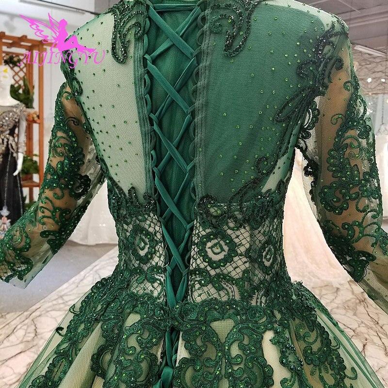 Image 4 - AIJINGYU Winter Wedding Dresses Turkish Gown 2019 Sexy Long Sleeve Bridal Brazil Gowns Luxury DressWedding Dresses   -