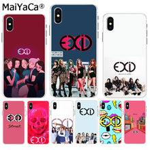 MaiYaCa Exceed In Dreaming Solji EXID 소프트 TPU 실리콘 iPhone 8 용 다채로운 전화 케이스 7 6 6S Plus X XS max 10 5 5S SE XR(China)
