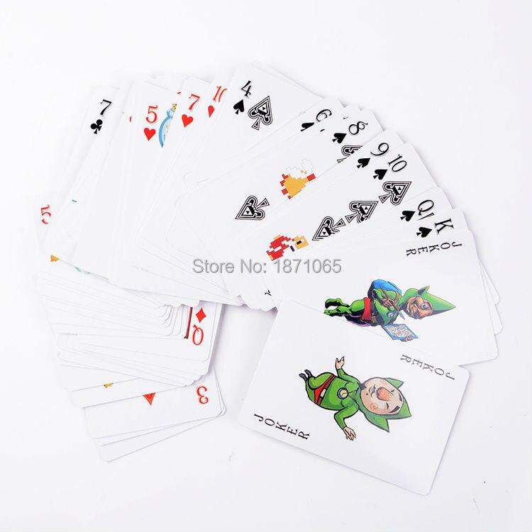 1 Set Anime The Legend of Zelda Link Poker Playing Cards Toys Paper ...