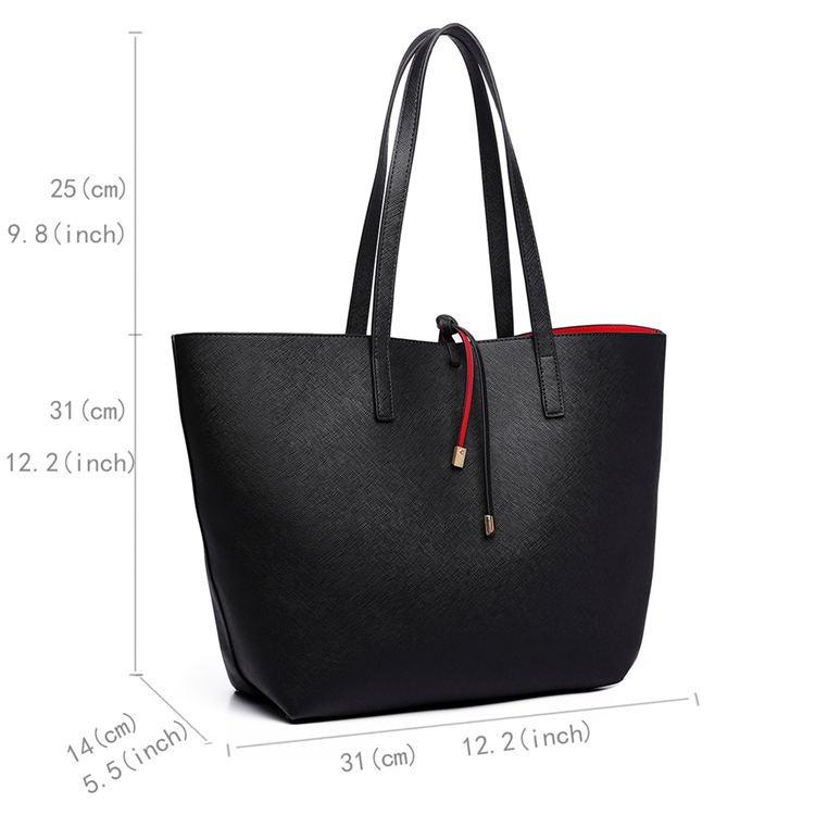 One Of A Kind - Reversible Shoulder Bags Set 2Pcs*