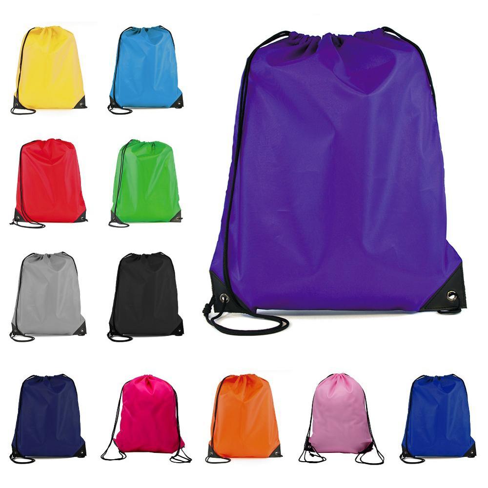 Портативная спортивная сумка, утолщенный рюкзак на шнурке для верховой езды, спортивная обувь на шнурке, водонепроницаемые Рюкзаки для одежды