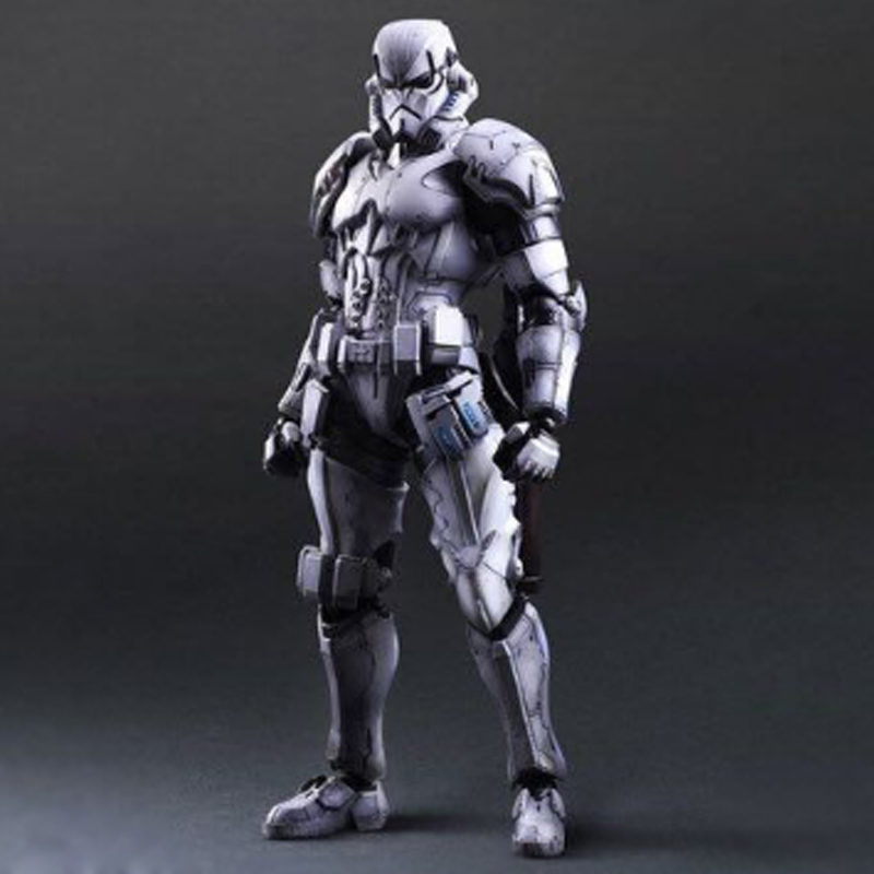 Star War The Force Awakens Trooper Action Figure Clone Trooper Model Kids Toys Kit Birthday Gift Collectible Gadget for Adults play art 26cm star war storm trooper stormtrooper action figure model toys