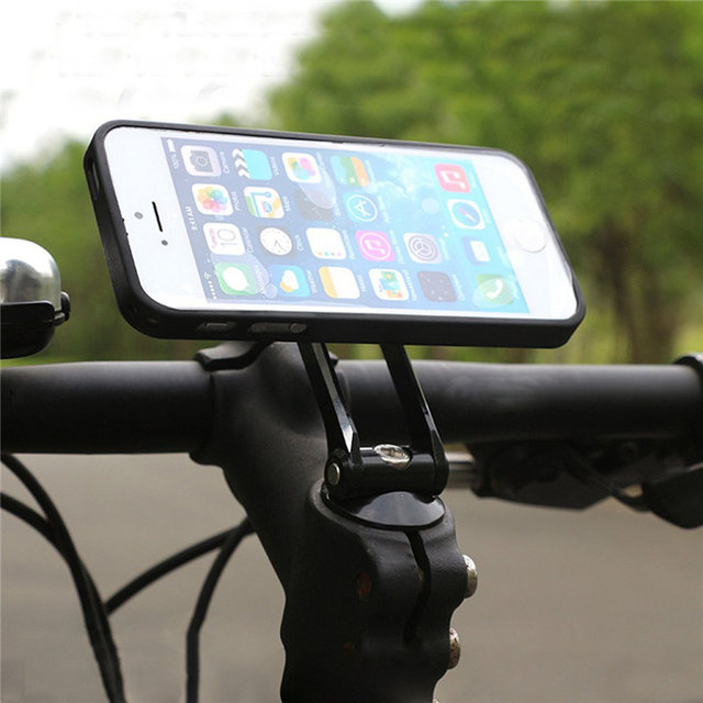 Uniwersalny regulowany uchwyt na telefon komórkowy uchwyt na rower rowerowy Head Stem do montażu stojak uchwyt na Samsunga dla iPhone dla Huawei