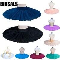 Adult Black Half Professional Ballet Tutu Girls White Ballerina Ballet Half Tutu Dress Classical Ballet Stage