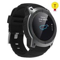 2018 Новый GPS Смарт спортивные часы Bluetooth с Шагомер сердечного ритма барометр Открытый спортивные часы для прогулок Бег Велосипеды