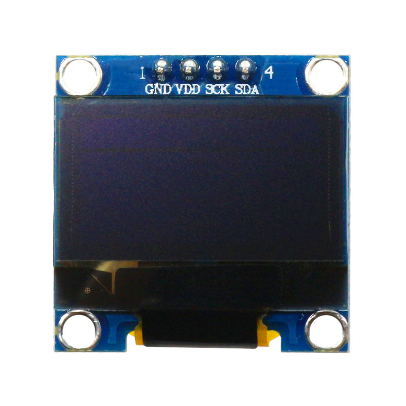 128X64 12864 IIC 0.96 Inch OLED LCD LED Display Module White Single Color For Arduino 0.96