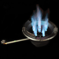 34KW super quality high flame gas kitchen burner stove commercial hotel restaurant lpg propane & butane cooking stove