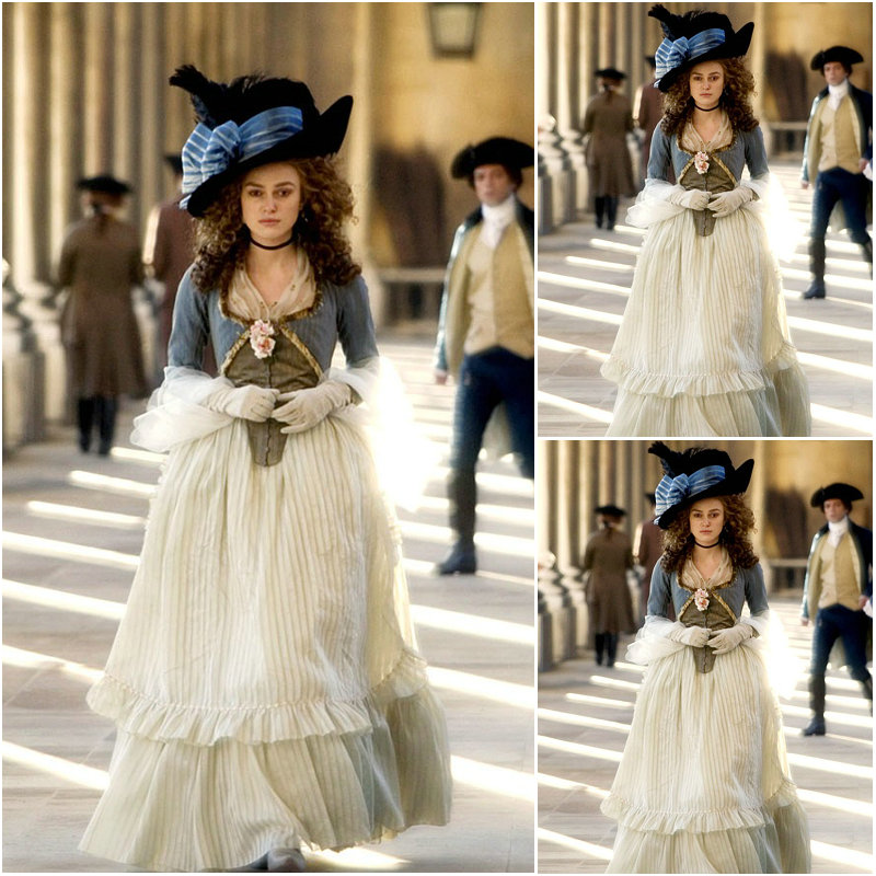 US $193 8 15% OFF|2017 new!Customer made Blue Vintage Costumes Victorian  Dresses Civil War dress The Duchess Cosplay Lolita dresses C 1092-in Movie  &