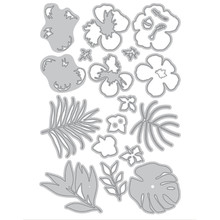 YaMinSanNiO Leaf Flower Branch Metal Cutting Dies for Scrapbooking New 2019 Die Cut Card Making Craft Decoration