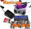 Pro 3000 RPM Electric Nail Art Drill Manicure Set File Improved Overheat + Vibration EU/US Plug