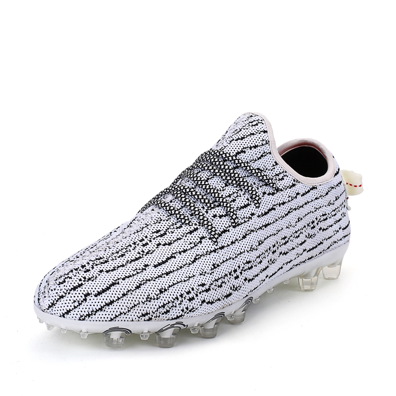 Soccer cleats men New soccer shoes AG professional football shoes adults outdoor Lawn Sneakers Trainers Football Boots original tiebao new men outdoor grass soccer shoes cleats for adults children sports football shoes brand football boots male size 35 44