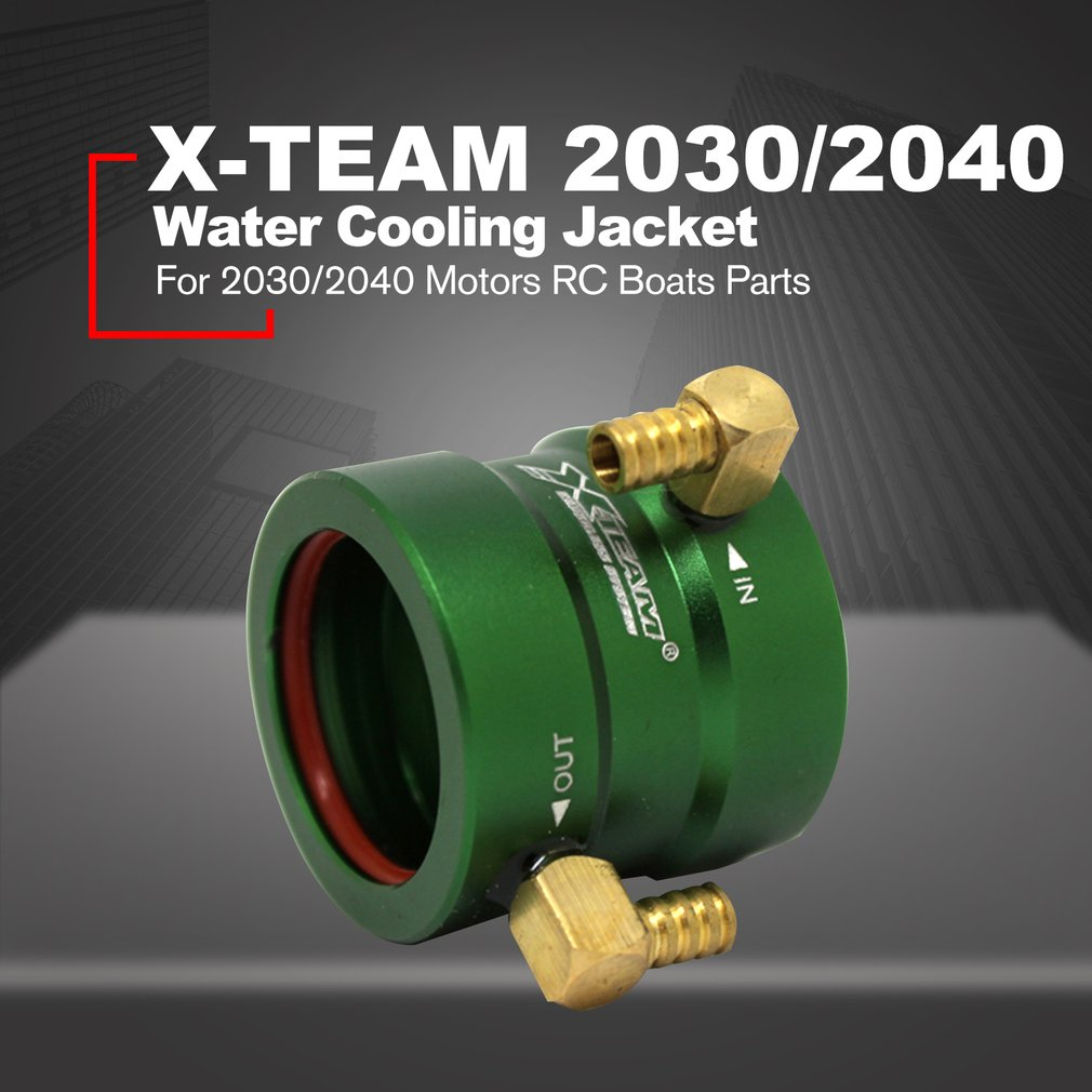 X-TEAM 20-25 Water Cooling Jacket Cover Model Accessories for 2030/2040  Brushless Motors RC Boats Ship Spare Parts