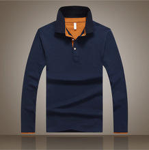 2016 Hot Sale Men's polo ralphmen Fashion Men's Casual Slim Long Sleeved Polo ralph men Shirt Turn-down Collar Polo Shirts 7001