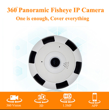 360 Degree smart panoramic IPC Wireless IP Fisheye Camera Support Two Way Audio P2P 960P HD wifi camera