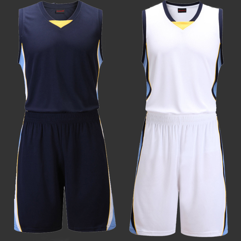 41a06b12b9a6 Best Buy Male Blank Basketball Jersey Mens Sports Training Shirt and Short  Set Adults Basketball Clothes Teams Uniform - Parfeapar