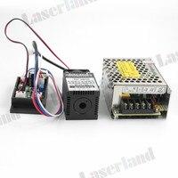 Industrial 120mW Blue 445nm 450nm Laser Diode Module W TTL 12V Power Supply 3350