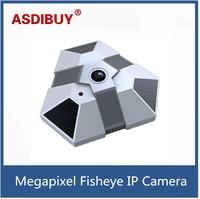 Onvif 1 3MP Full HD 960P Night Vision Panorama 360 Degree Ceilling Install Network CMOS Fisheye