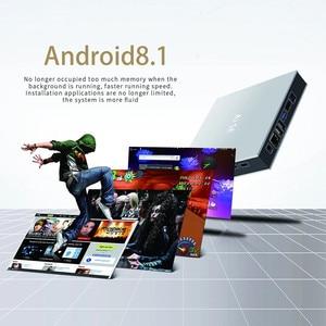 Smart Tv Game Box Ai Se Android 8.1 Box Tv Rockchip 3399 TV Box 4GB DDR4 64GB 5G WIFI BT4.0 H.265 With Game Gamepad Set Top Box