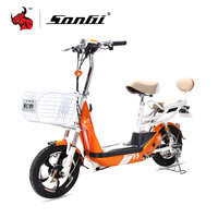 SONGI Strong Power Electric Vehicle Lithium Battery Electric Scooters TDT277Z 48V/2A