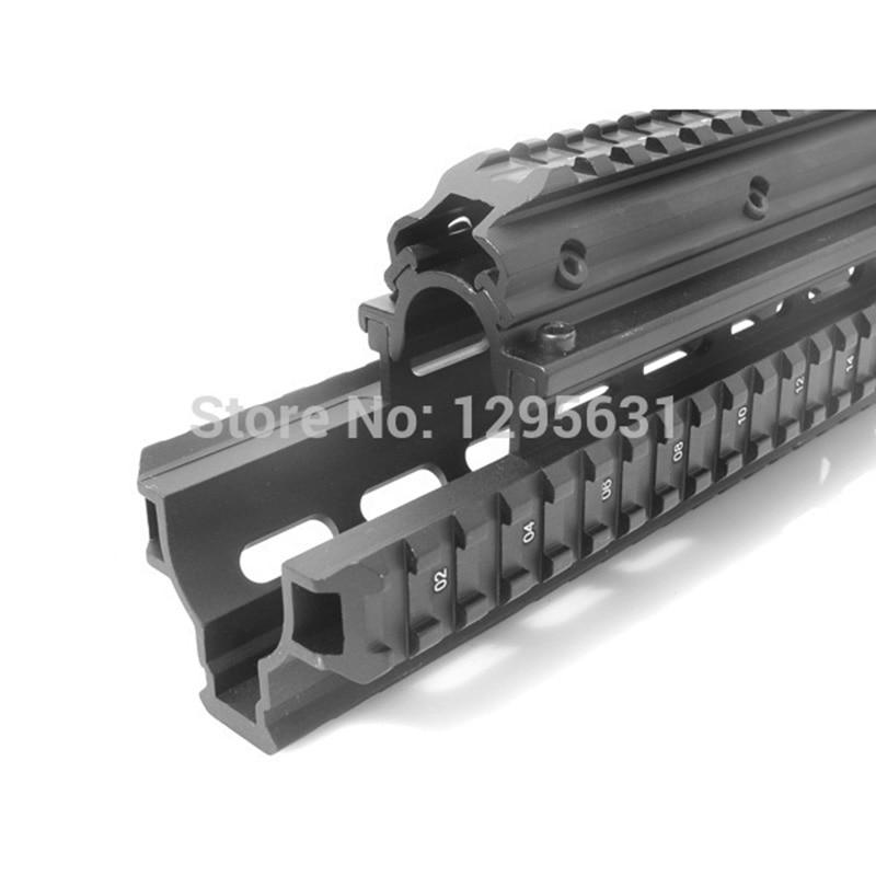 Saiga 12 Shotgun Tactical Quad Rail A través del alcance Montaje de - Caza - foto 6