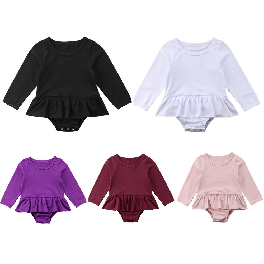 f4f4adbbe418 Detail Feedback Questions about Cotton Newborn Baby Girl Long Sleeve ...
