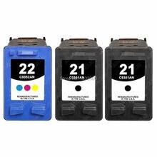 Для hp 21 22 картридж с чернилами для HP21 22 Deskjet F4180 F2180 F2280 D1530 D1320 D1311 D1455 F2100 F4100 для HP Картриджи 21 и 22