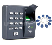 Fingerprint Recognition ID Card Reader RFID Entry Door Access Control System+10pcs keyfobs
